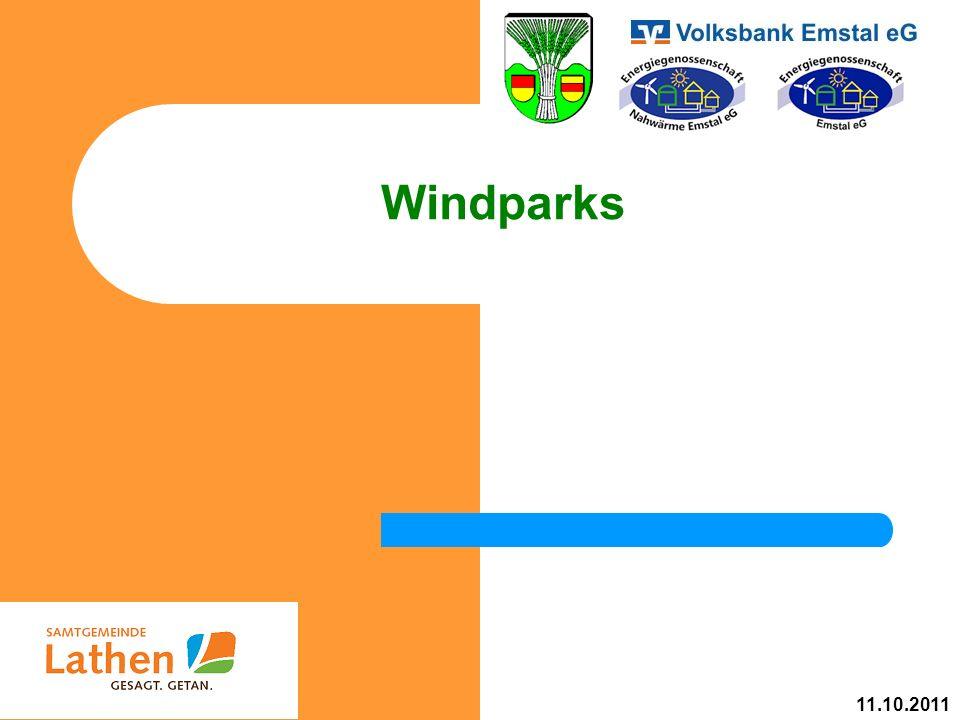Windparks 11.10.2011