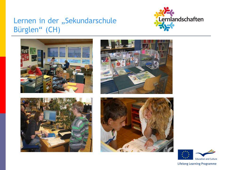 "Lernen in der ""Sekundarschule Bürglen (CH)"