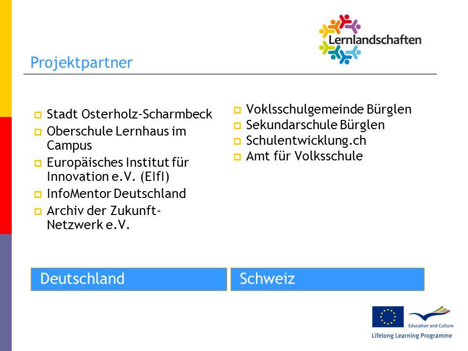 DeutschlandSchweiz  Stadt Osterholz-Scharmbeck  Oberschule Lernhaus im Campus  Europäisches Institut für Innovation e.V.