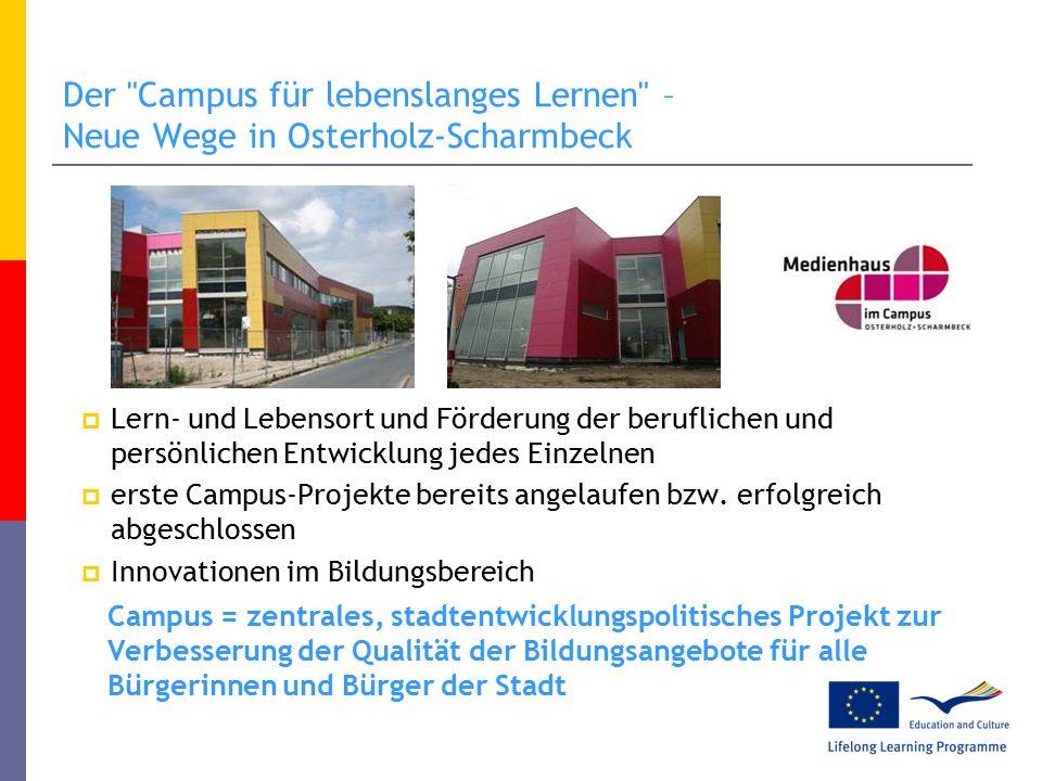 """Lernen in Lernlandschaften im """"Lernhaus im Campus Selbstständiges Lernen in Lernlandschaften in Osterholz-Scharmbeck"""
