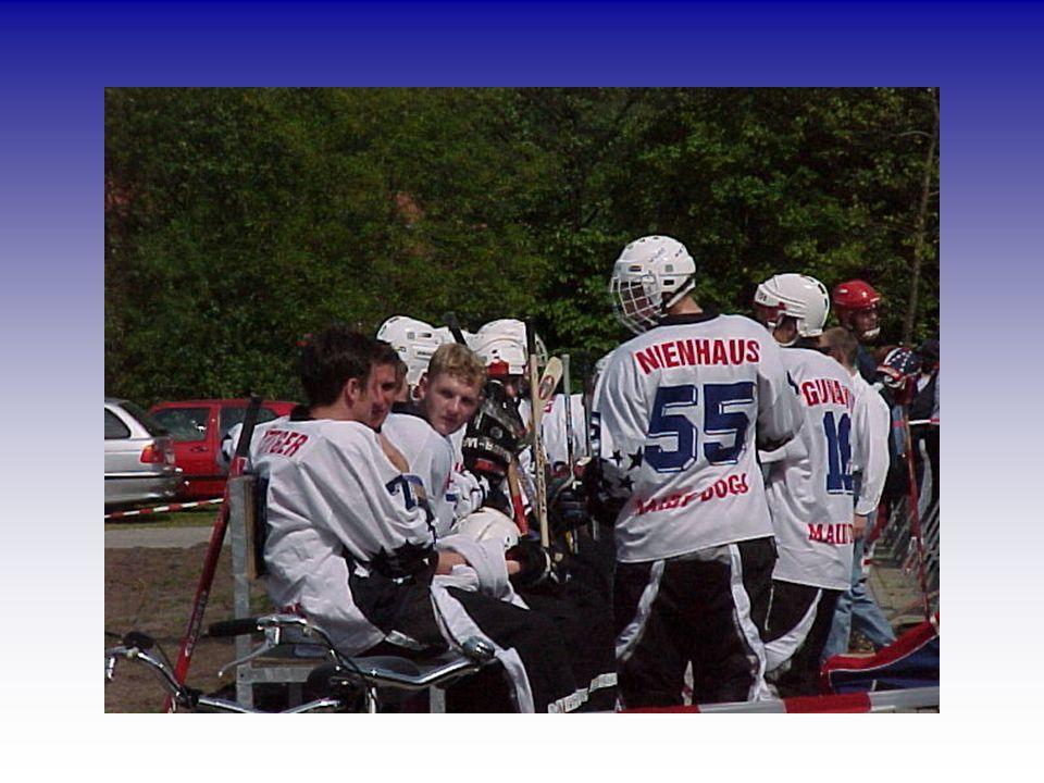 Oktober 2000 Aufgrund ihrer Leistungen wurden die Maidy Dogs von den Bürgern der Stadt Ahaus mit 16.000 Stimmen zur Mannschaft des Jahres gewählt und