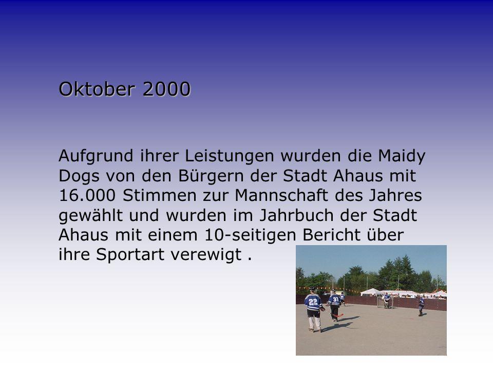 Saison 2000 Spielbetrieb in der 2. Bundesliga Nord.