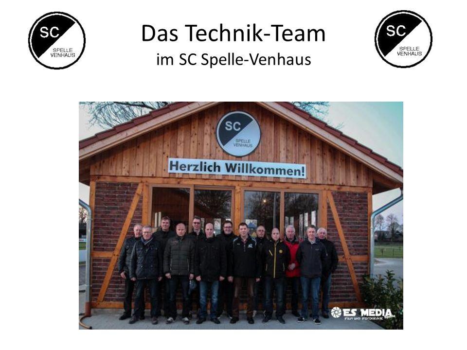 Das Technik-Team im SC Spelle-Venhaus