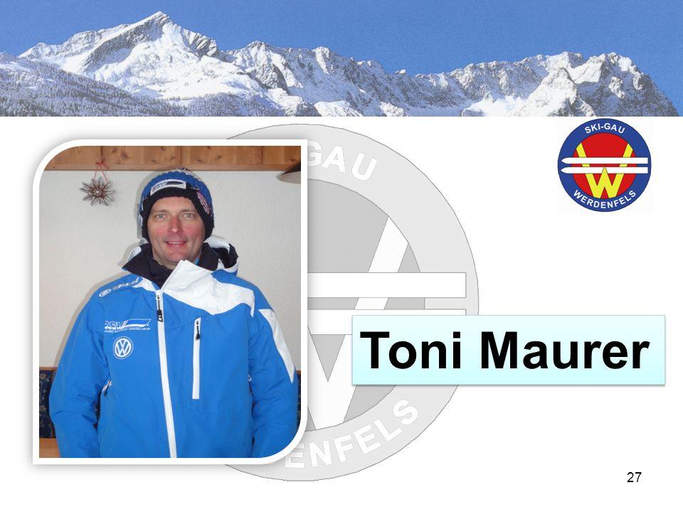 EEhrun 27 Toni Maurer
