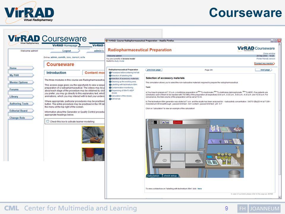 9 Courseware