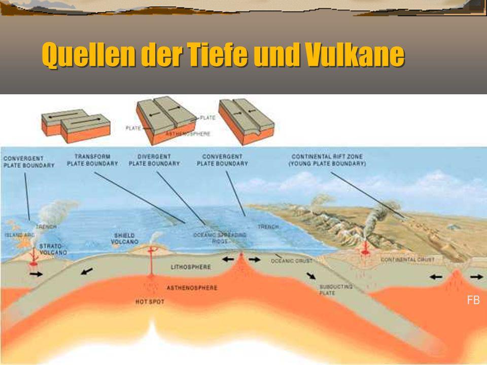 Quellen der Tiefe und Vulkane FB