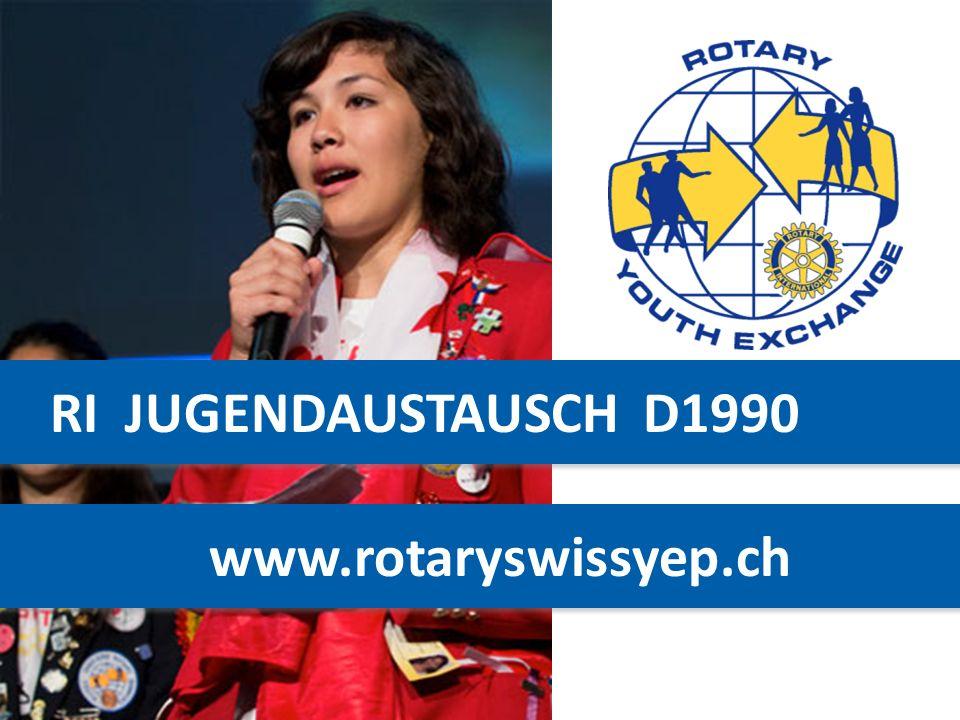 RI JUGENDAUSTAUSCH D1990 www.rotaryswissyep.ch