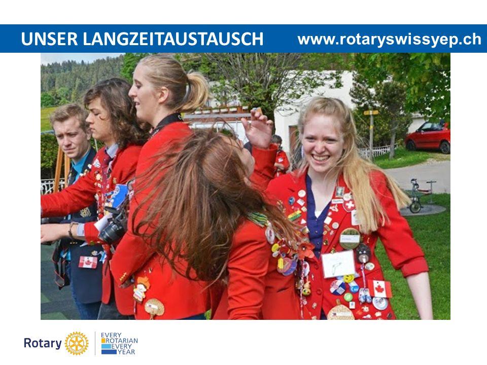 UNSER LANGZEITAUSTAUSCH www.rotaryswissyep.ch