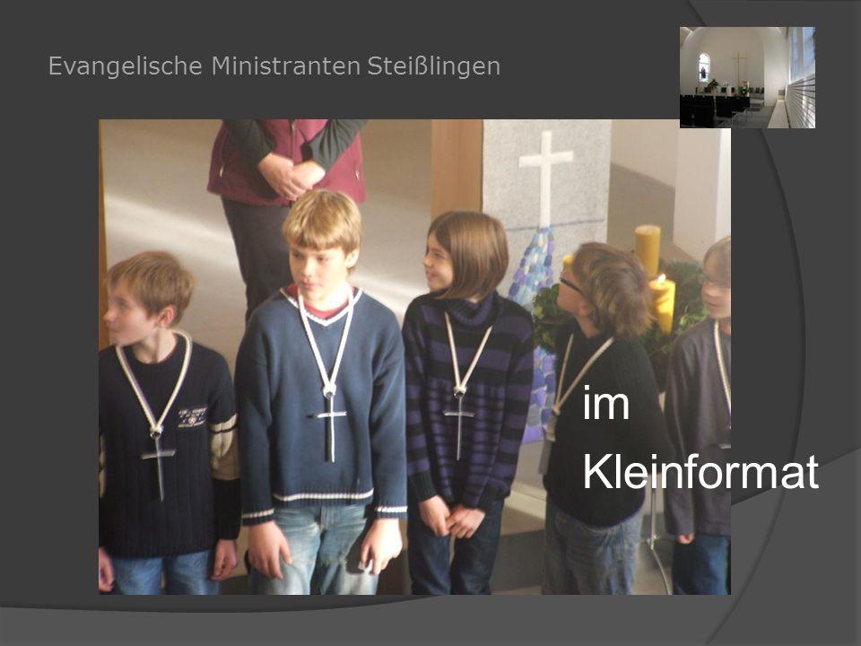 Evangelische Ministranten Steißlingen im Kleinformat