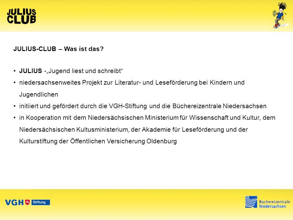 JULIUS-CLUB – Was ist das.