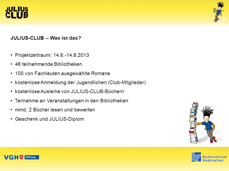 Was will der JULIUS-CLUB.