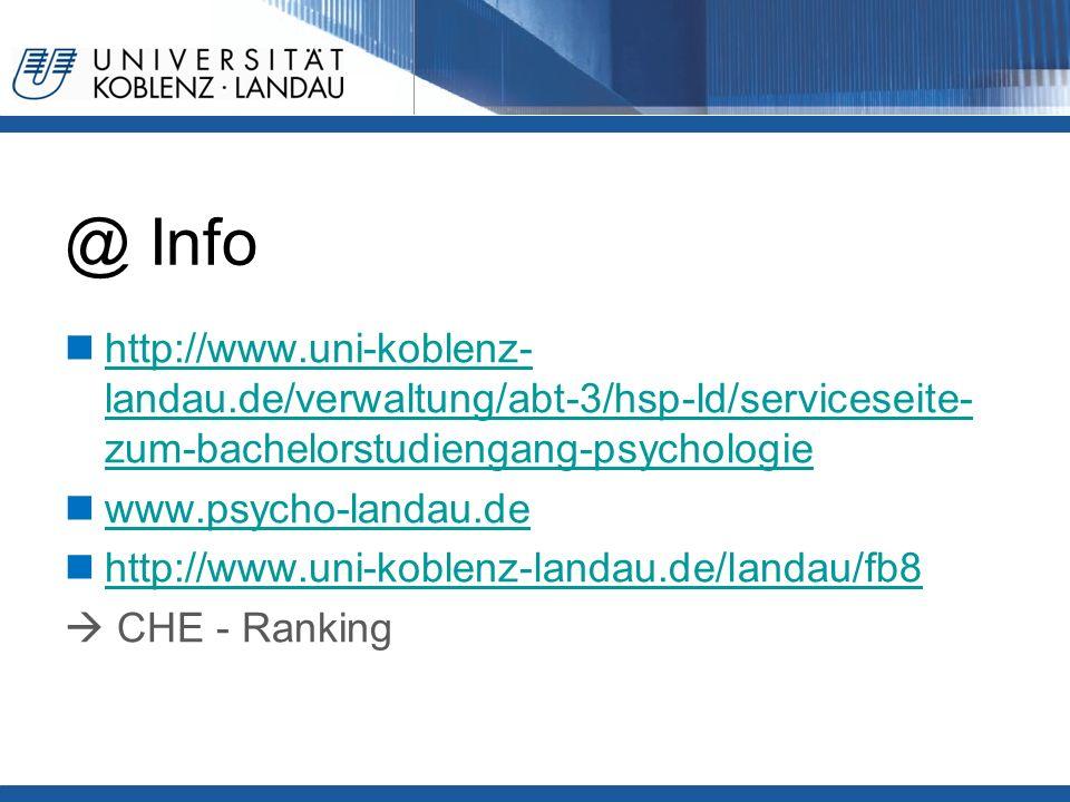 @ Info http://www.uni-koblenz- landau.de/verwaltung/abt-3/hsp-ld/serviceseite- zum-bachelorstudiengang-psychologie http://www.uni-koblenz- landau.de/verwaltung/abt-3/hsp-ld/serviceseite- zum-bachelorstudiengang-psychologie www.psycho-landau.de http://www.uni-koblenz-landau.de/landau/fb8  CHE - Ranking