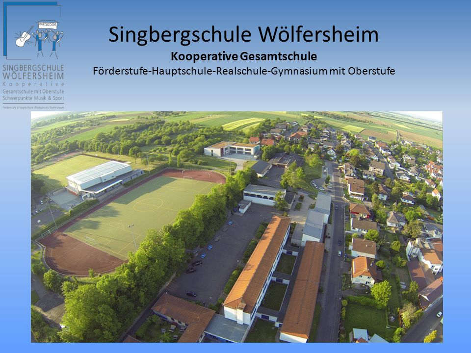 Der Aufbau der Singbergschule ab Klasse 7 2.Fremdsprache Latein / Französisch ab Klasse 9 3.