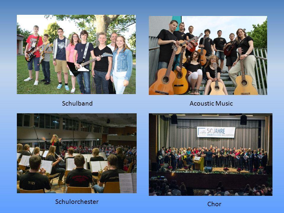 Acoustic MusicSchulband Schulorchester Chor