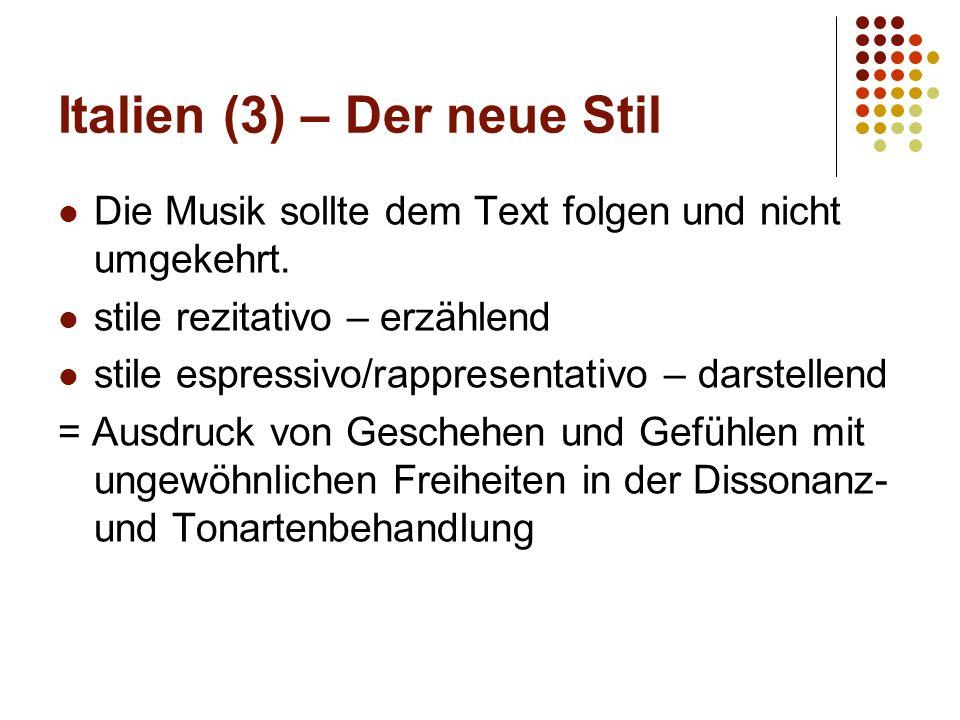 Deutschland (4) – Die deutsche romantische Oper Als Textgrundlagen der romantischen Oper ab ca.