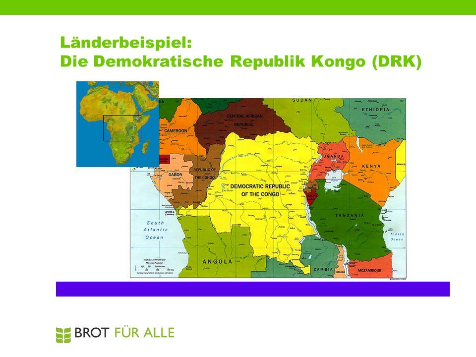 Länderbeispiel: Die Demokratische Republik Kongo (DRK)