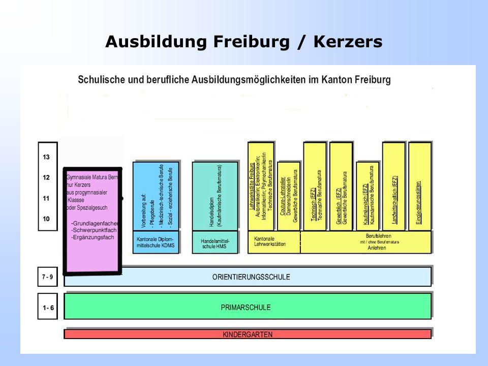 Anschluss an Mittelschulen Aus A-Klassen –Übertritt in Berner Gymnasien nach der 8.