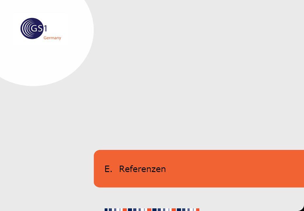 E. Referenzen