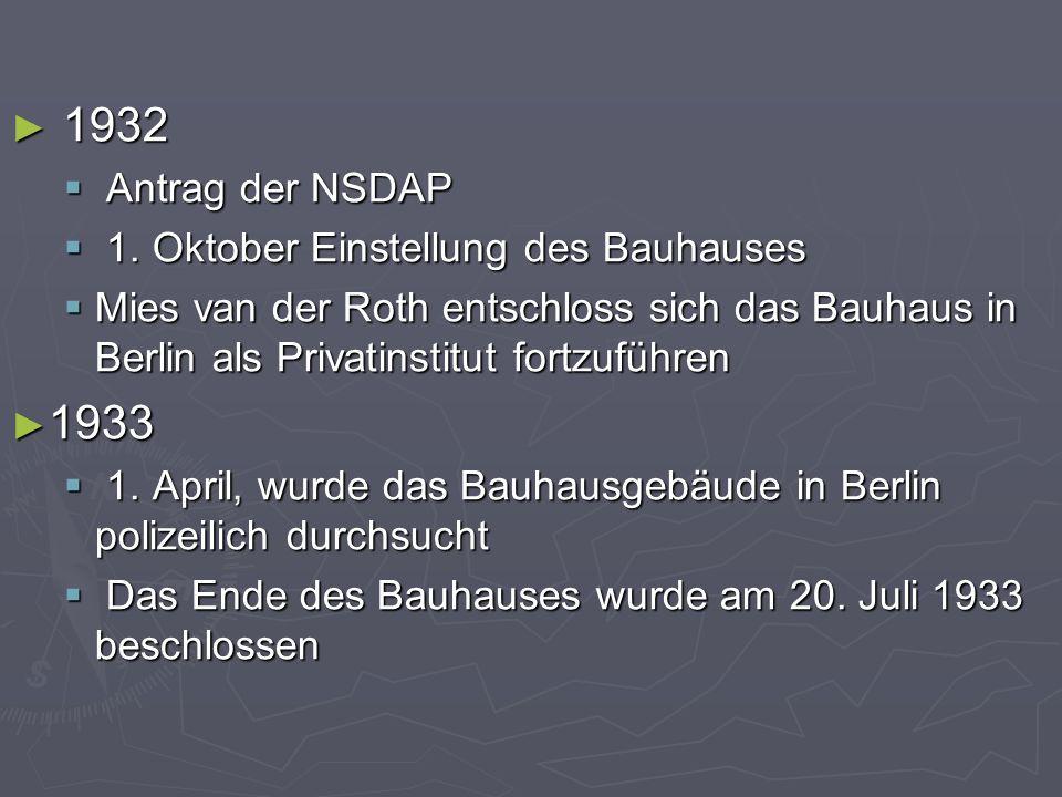 ► 1932  Antrag der NSDAP  1.