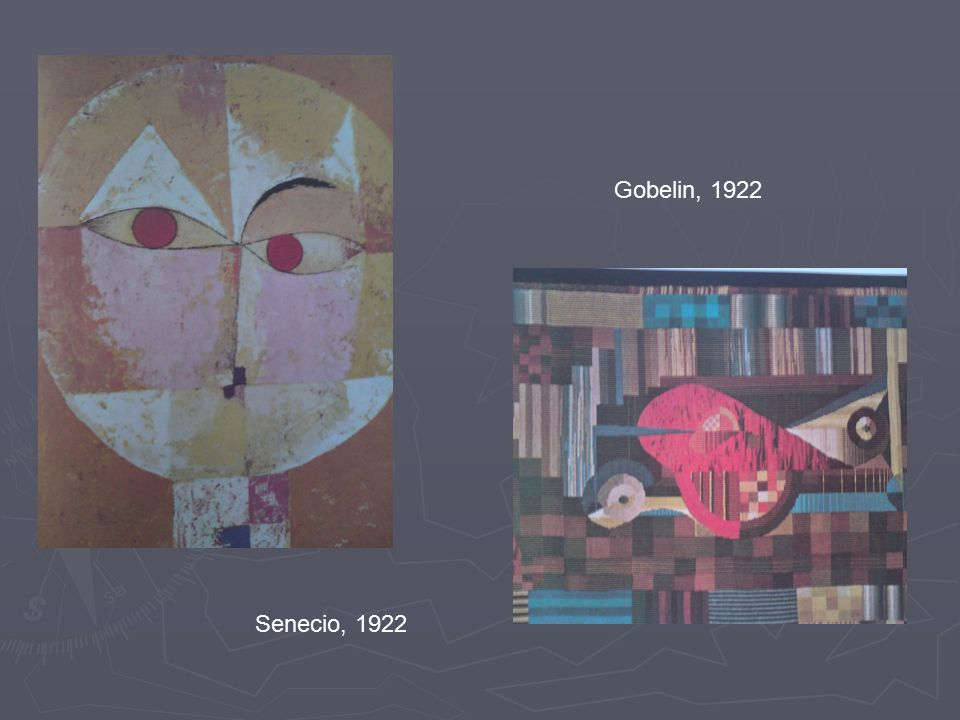 Senecio, 1922 Gobelin, 1922