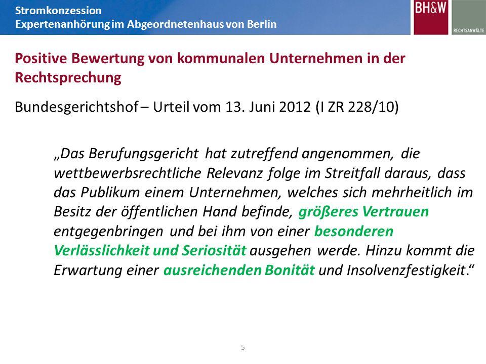 Bundesgerichtshof – Urteil vom 13.