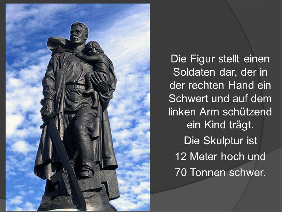 Das Treptower Ehrenmal wurde am 8.Mai 1949 errichtet.