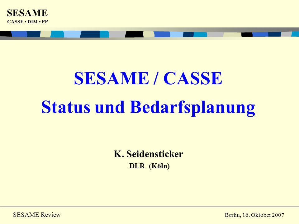 SESAME CASSE DIM PP 12 SESAME Review Berlin, 16.