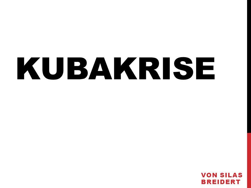 KUBAKRISE VON SILAS BREIDERT