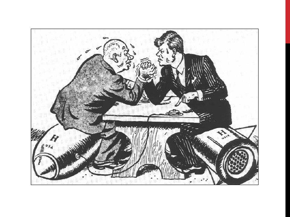 ALLGEMEINES Höhe- und Wendepunkt des Kalten Krieges Atomkrieg sehr wahrscheinlich