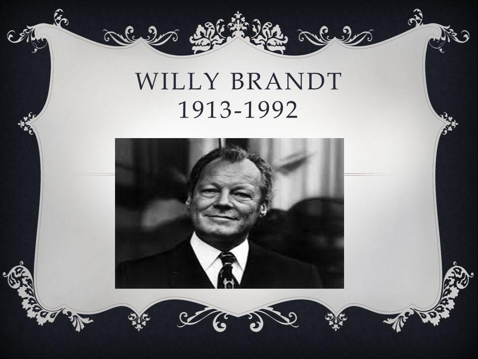 WILLY BRANDT 1913-1992