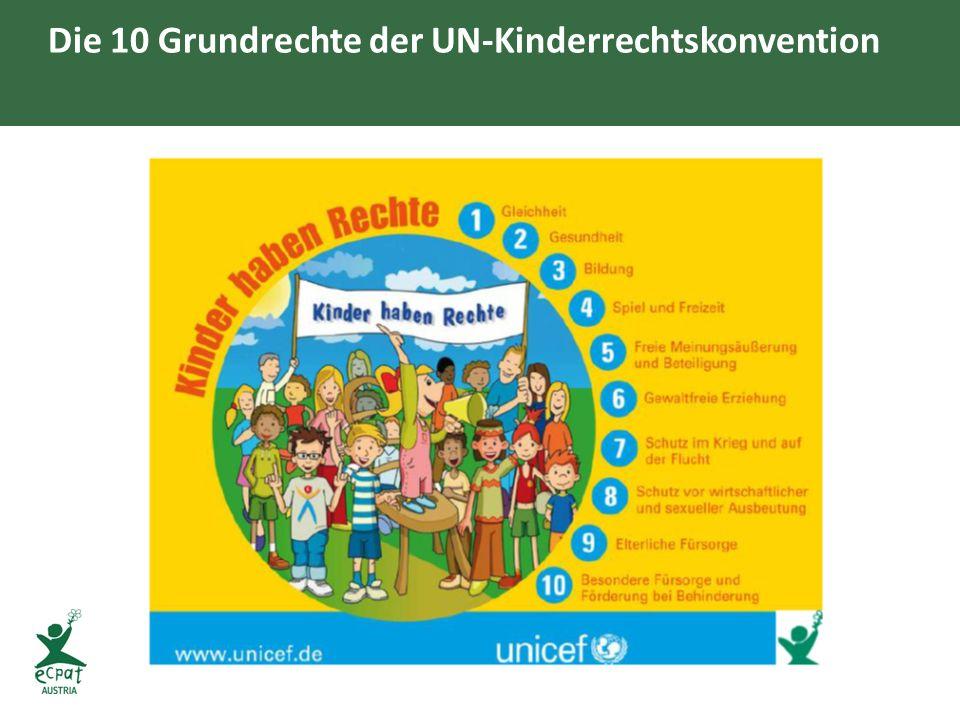 Die 10 Grundrechte der UN-Kinderrechtskonvention
