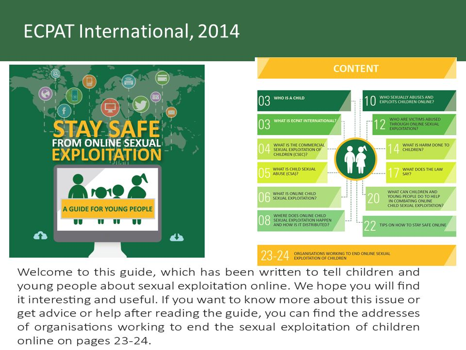ECPAT International, 2014