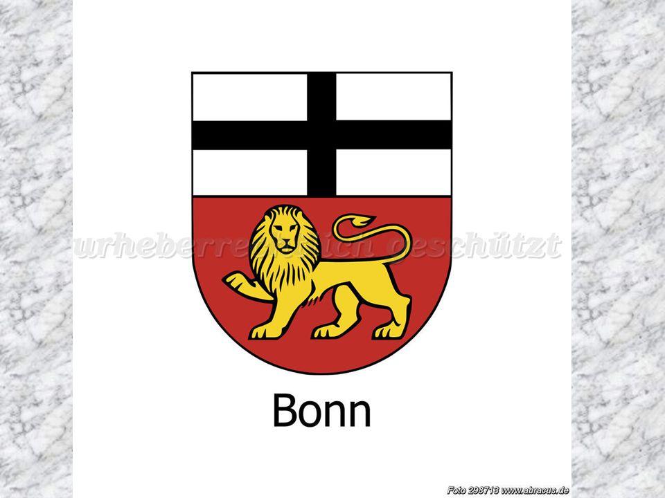 Die Hauptstadt der BRD war Bonn am Rhein