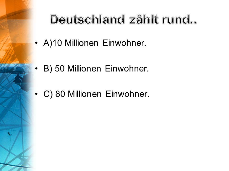A) Großvater Rhein B) Mutter Rhein C) Vater Rhein