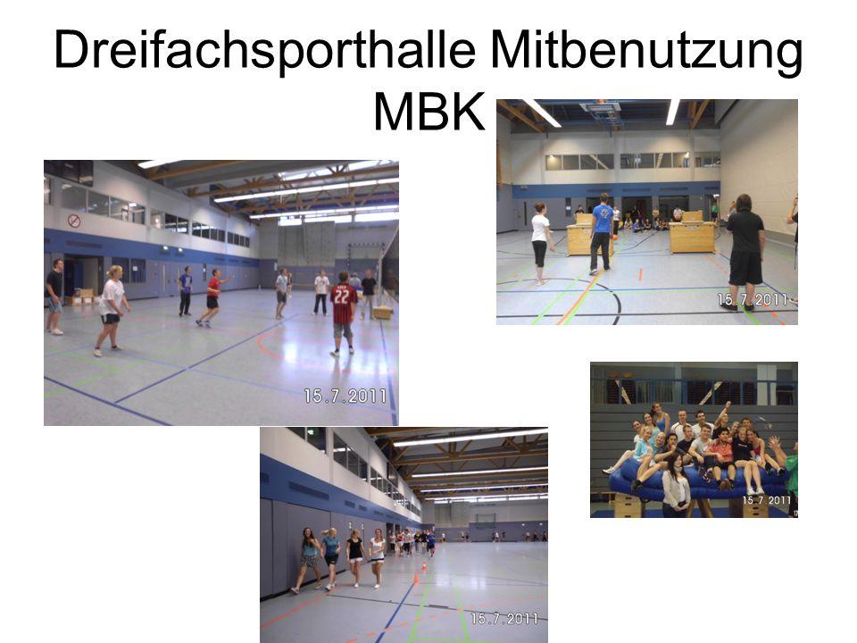 Dreifachsporthalle Mitbenutzung MBK