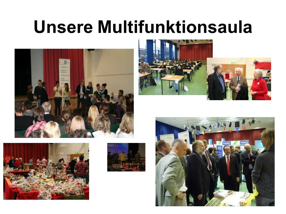 Unsere Multifunktionsaula