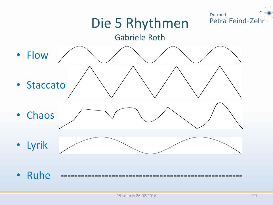 Die 5 Rhythmen Gabriele Roth Flow Staccato Chaos Lyrik Ruhe ----------------------------------------------------- FB smarty 26.02.201620