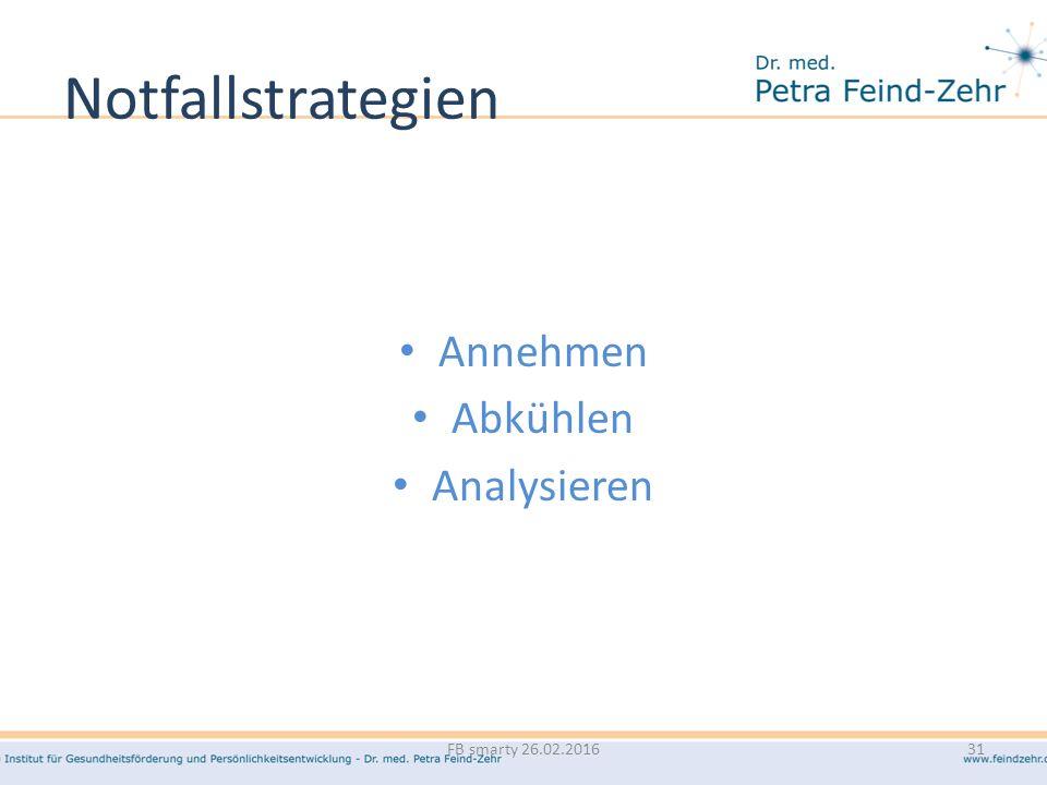 Notfallstrategien Annehmen Abkühlen Analysieren FB smarty 26.02.201631