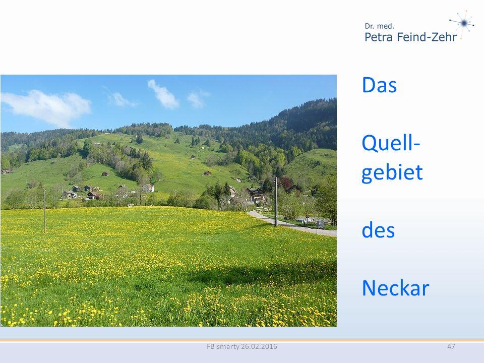 Das Quell- gebiet des Neckar FB smarty 26.02.201647