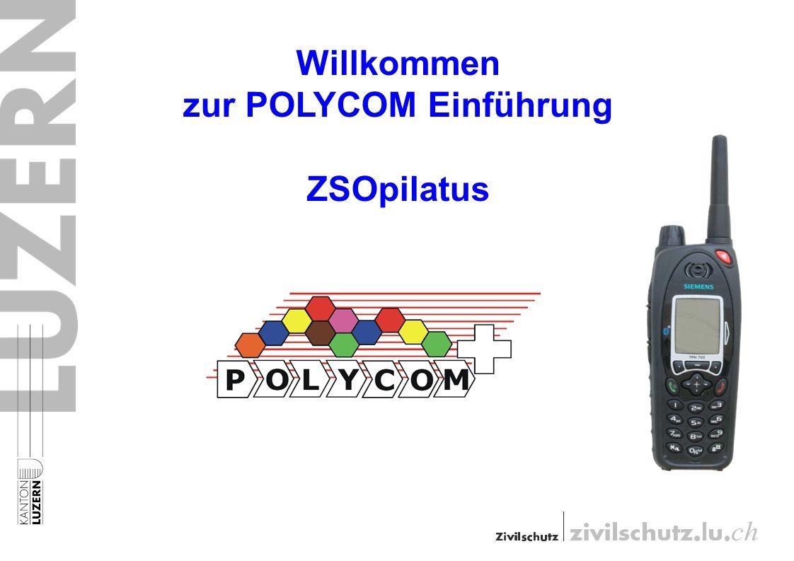 Willkommen zur POLYCOM Einführung ZSOpilatus