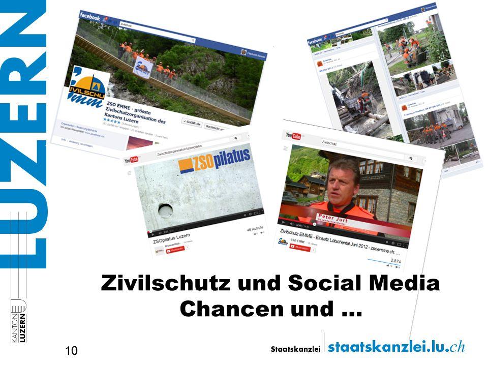 Zivilschutz und Social Media Chancen und … 10