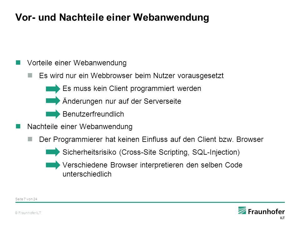 © Fraunhofer ILT Seite 18 von 24