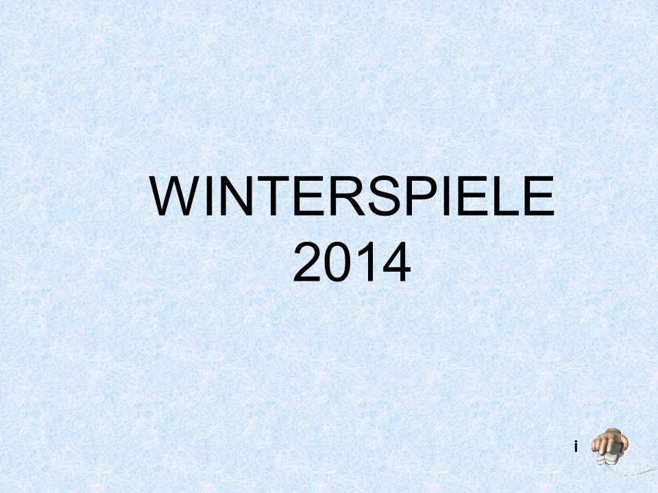 WINTERSPIELE 2014 i