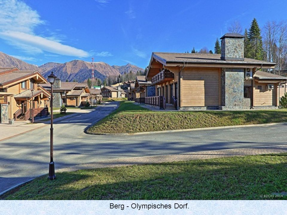 Berg - Olympisches Dorf.