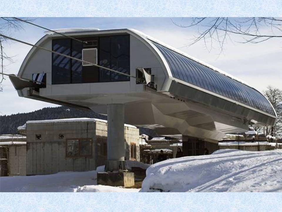 """In der Nähe von """"Rosa Chutor """" führte man die moderne Rekonstruktion. Station """"Sapowednyj Les"""""""