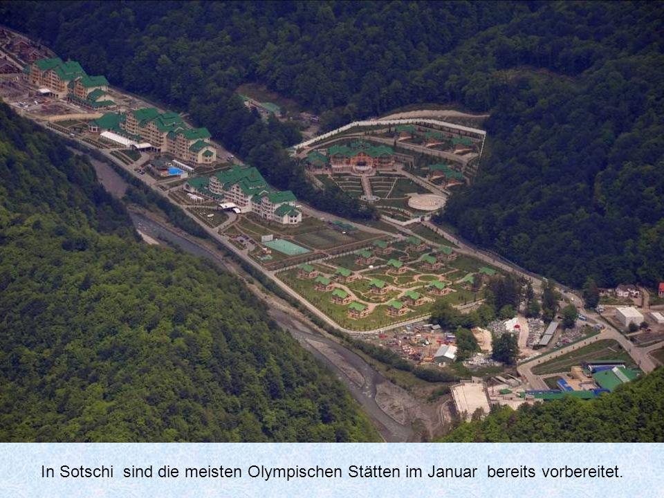 Tickets für die Olympischen Spiele in Sotschi kosten zw.