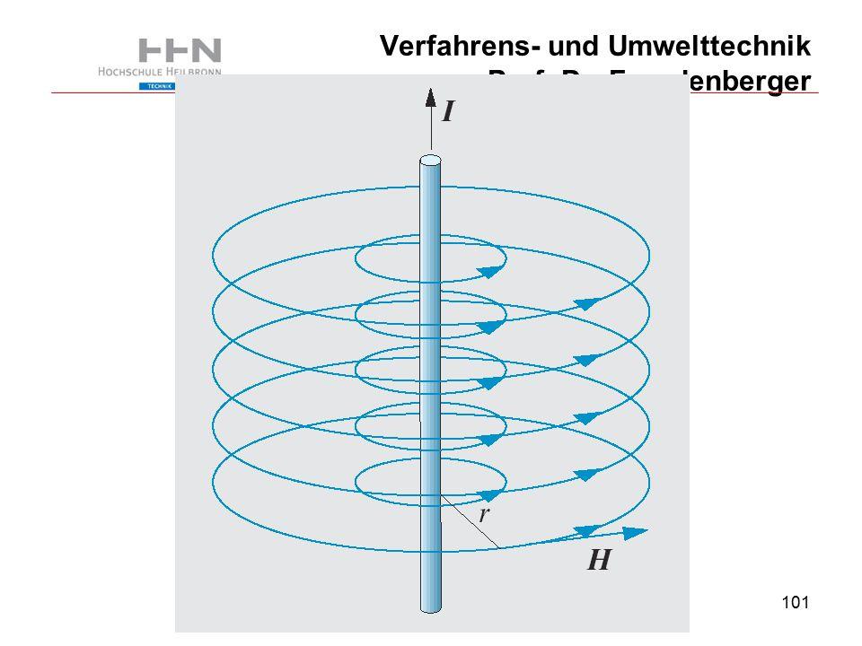 101 Verfahrens- und Umwelttechnik Prof. Dr. Freudenberger