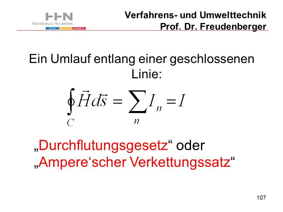 107 Verfahrens- und Umwelttechnik Prof. Dr.