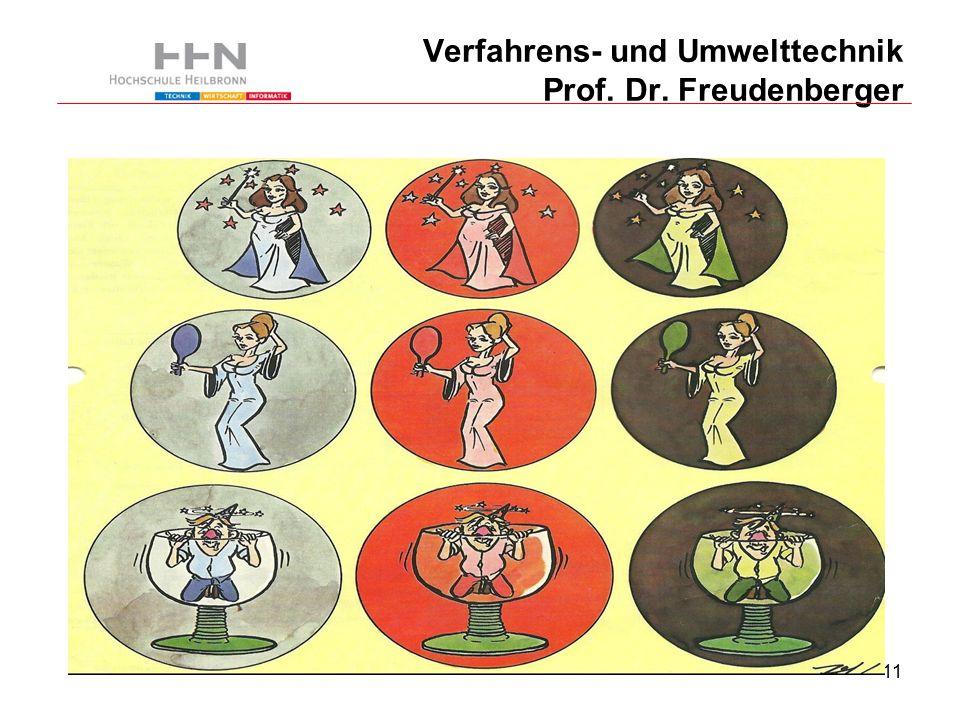 11 Verfahrens- und Umwelttechnik Prof. Dr. Freudenberger