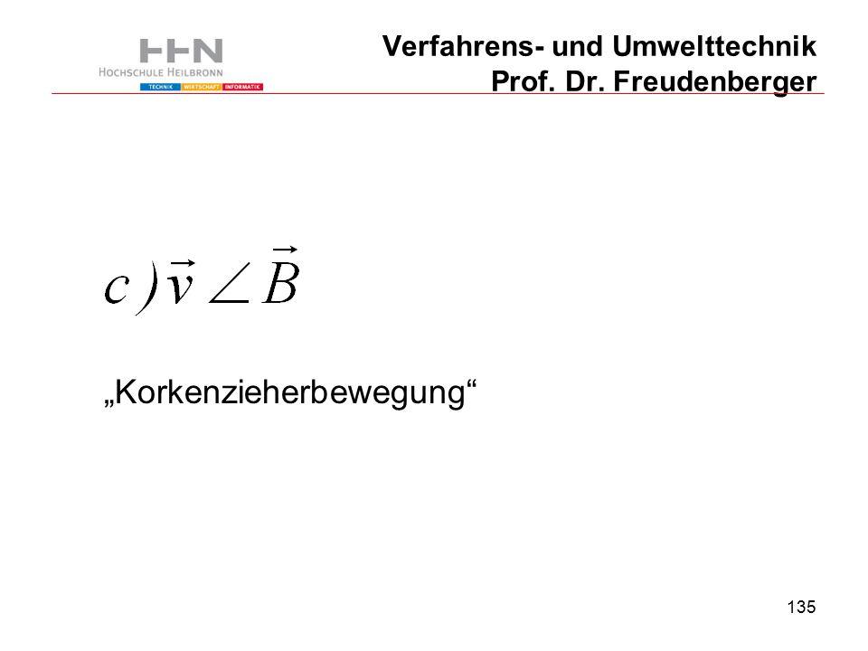 """135 Verfahrens- und Umwelttechnik Prof. Dr. Freudenberger """"Korkenzieherbewegung"""